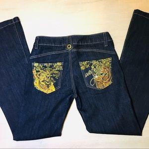 South Pole Mambo Flare Dark Wash Jeans